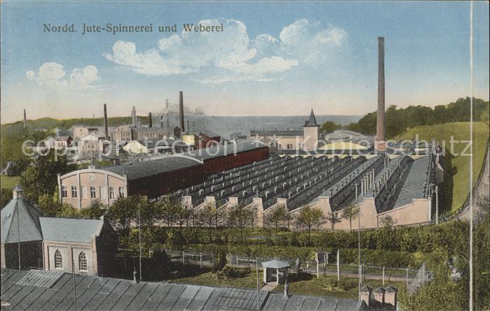 Hamburg Norddeutsche Jute Spinnerei und Weberei Kat. Hamburg