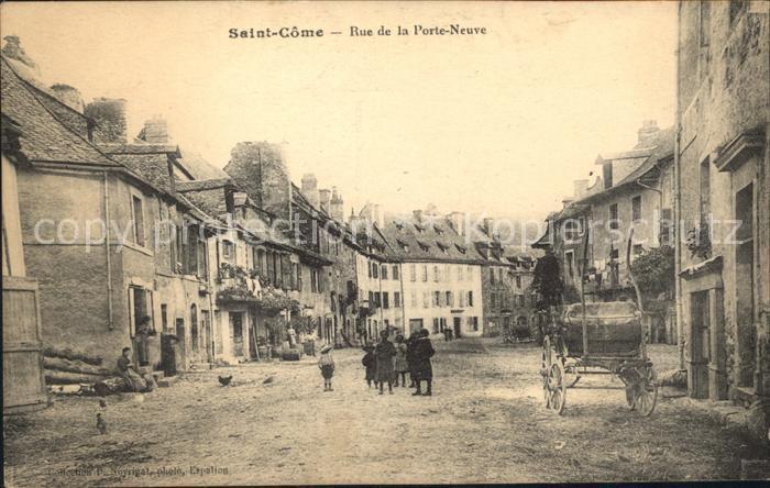 Saint Come d Olt Rue de la Porte Neuve Kat. Saint Come d Olt