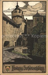 Hohensalzburg Festung Kat. Salzburg