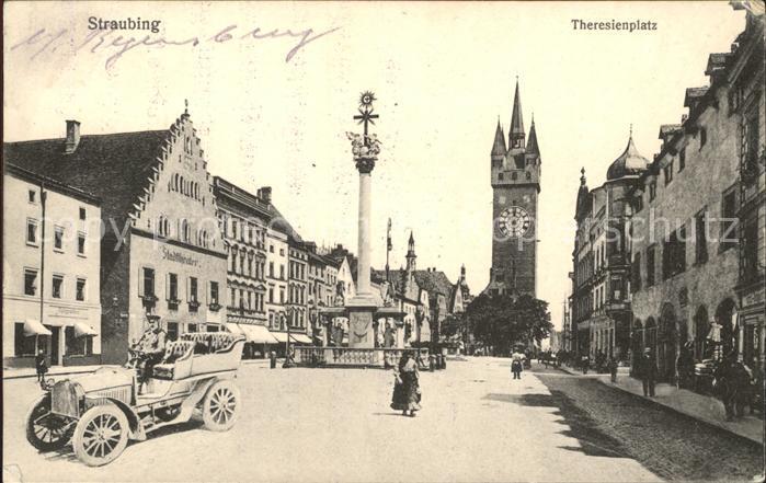 Straubing Theresienplatz Kat. Straubing