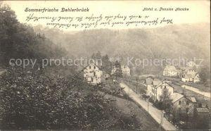 Dahlerbrueck Hotel Pension Hencke Kat. Schalksmuehle
