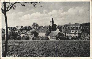 Orlach Teilansicht Gasthaus zum Lamm Kat. Braunsbach