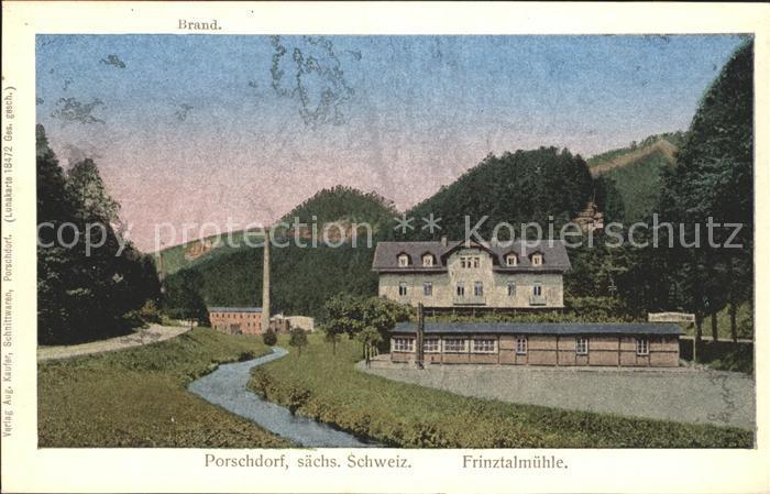 Porschdorf Frinztalmuehle Kat. Porschdorf