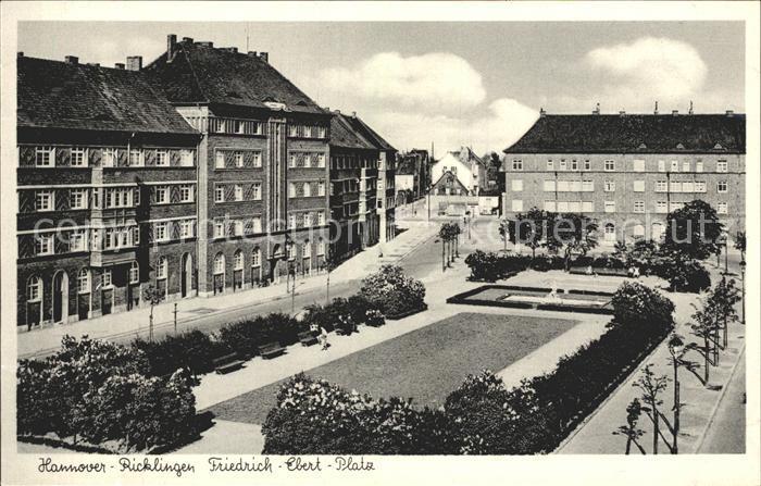 Ricklingen Friedrich Ebert Platz Kat. Hannover