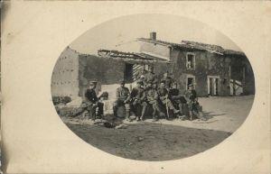 Beaumont-sur-Oise Soldaten / Beaumont-sur-Oise /Arrond. de Pontoise