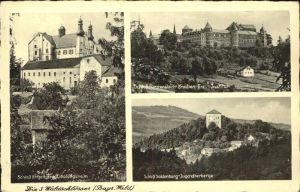 Saldenburg Schloss Saldenburg Schloss Engelburg Schloss Fuerstenstein / Saldenburg /Freyung-Grafenau LKR