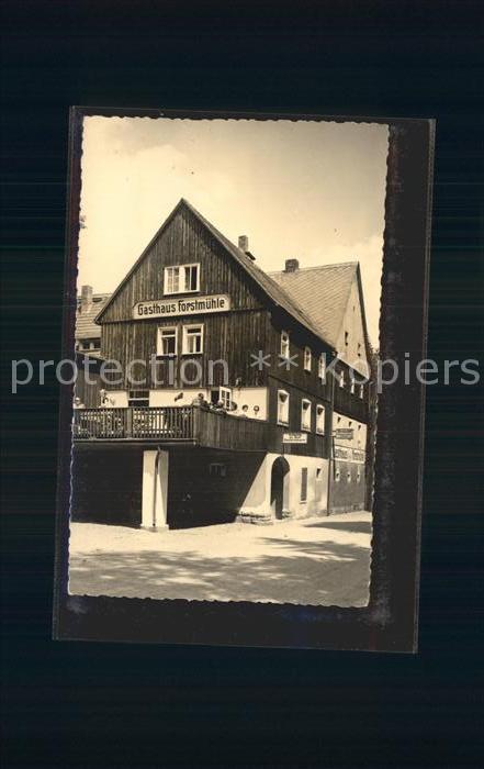 Krippen Bad Schandau Gasthaus Forstmuehle im Krippengrund Kat. Bad Schandau