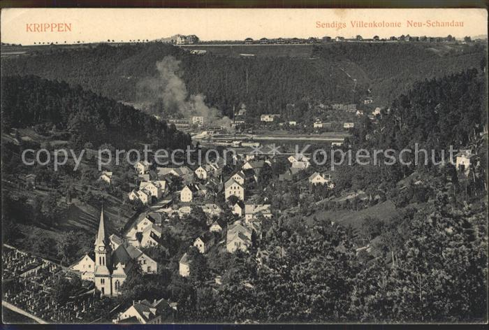 Krippen Bad Schandau Sendigs Villenkolonie Neu Schandau Kat. Bad Schandau 0