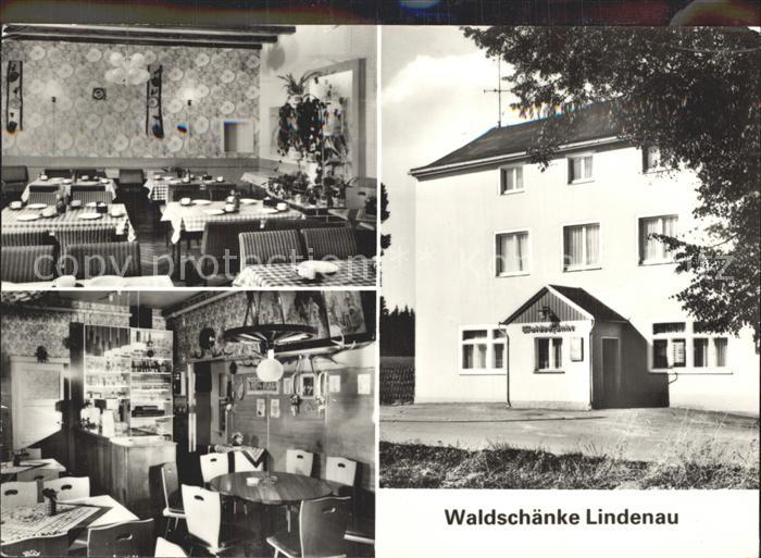 Lindenau Schneeberg Waldschaenke Lindenau Gastraeume ...