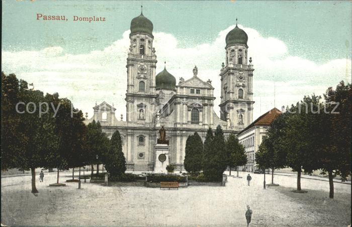 Passau Domplatz Dom Kat. Passau