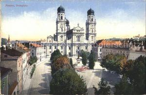 Passau Dom mit Domplatz Kat. Passau