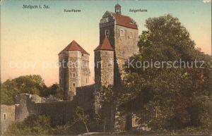 Stolpen Koselturm Selgerturm Kat. Stolpen