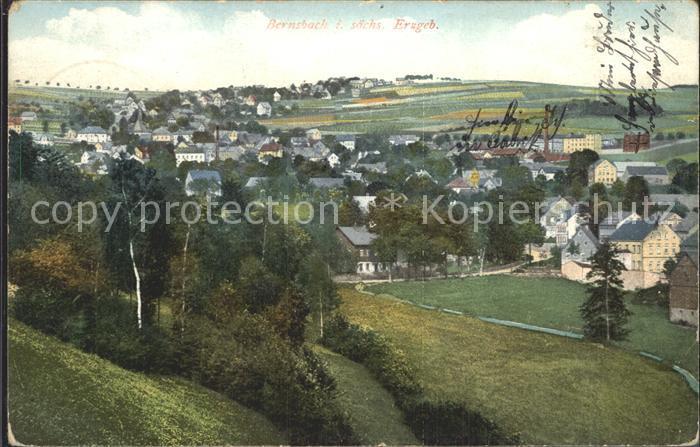 Bernsbach Panorama Kat. Bernsbach