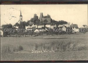 Stolpen Kirche und Schloss Kat. Stolpen