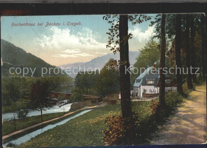 Bockau Erzgebirgskreis Rechenhaus Kat. Bockau