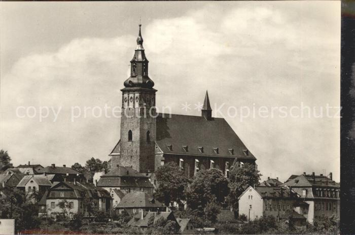 Schneeberg Erzgebirge Kirche St Wolfgang Kat. Schneeberg