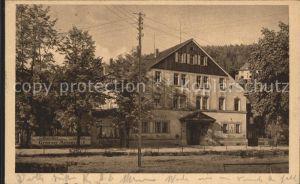 Oberschlema Erzgebirge Hotel Erzgebirgischer Hof Radiumbad Kat. Bad Schlema