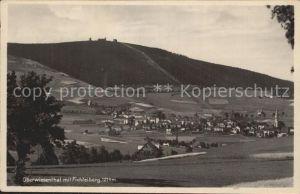 Oberwiesenthal Erzgebirge Hoechst gelegene Stadt des Deutschen Reiches  Kat. Oberwiesenthal