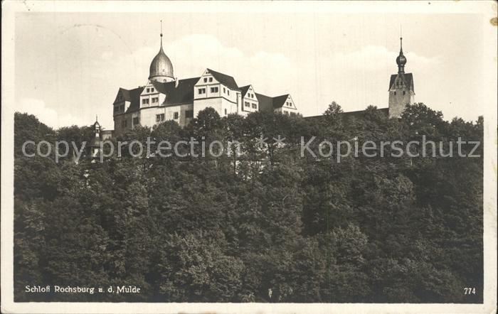 Rochsburg Schloss Rochsburg Kat. Lunzenau