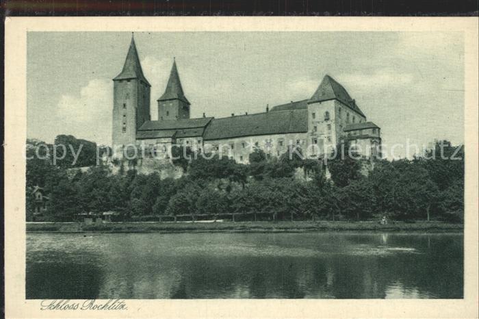 Rochlitz Sachsen Schloss Rochlitz an der Mulde Kat. Rochlitz