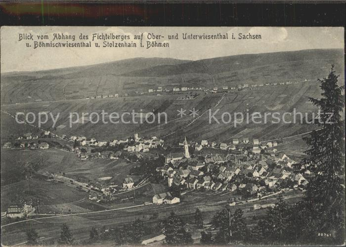 Oberwiesenthal Erzgebirge Stolzenhain Unterwiesenthal Kat. Oberwiesenthal