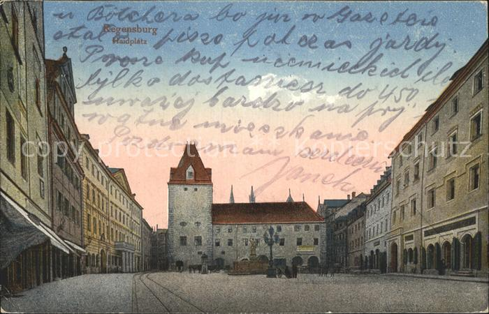 Regensburg Haidplatz Kat. Regensburg