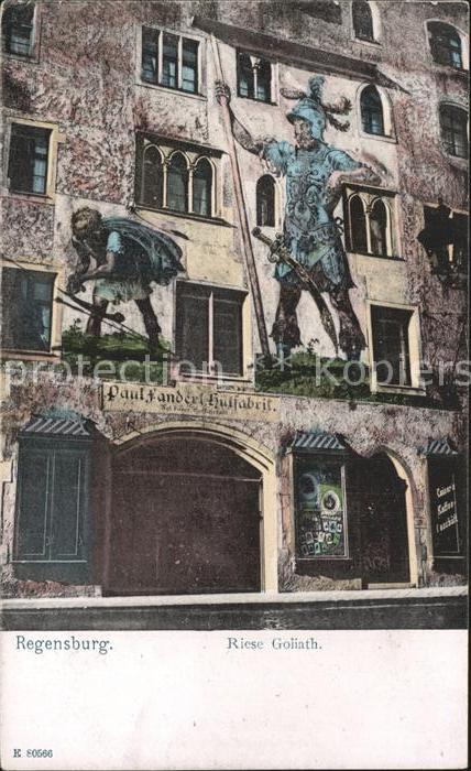 Regensburg Riese Goliath Kat. Regensburg