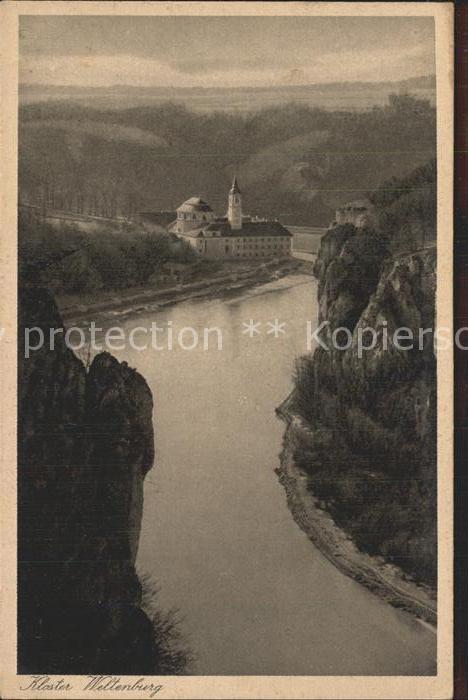 Weltenburg Kelheim Kloster Weltenburg Donaupartie Kat. Kelheim