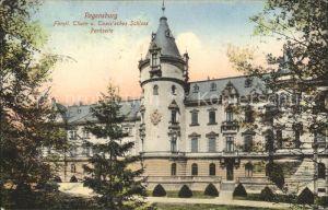 Regensburg Fuerstl Schloss von Thurn und Taxis Parkseite / Regensburg /Regensburg LKR