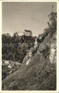 Riedenburg Altmuehltal mit Schloss Rosenburg Kat. Riedenburg
