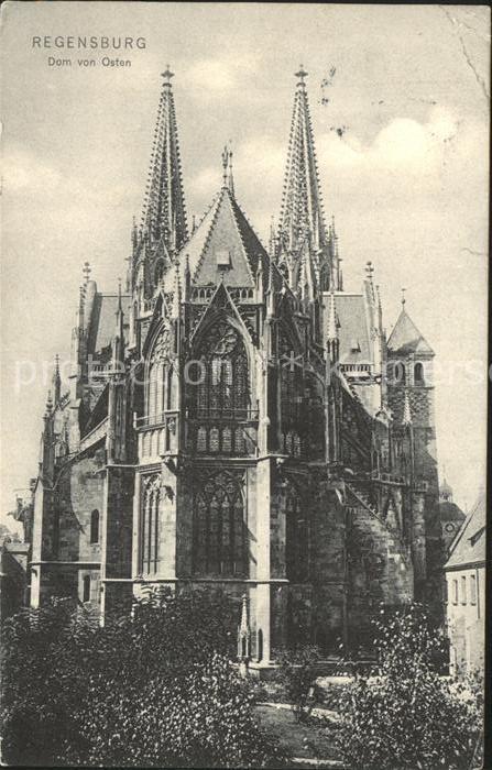 Regensburg Dom von Osten / Regensburg /Regensburg LKR