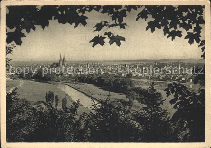 Regensburg Blick von der Winzererhoehe mit Dom / Regensburg /Regensburg LKR