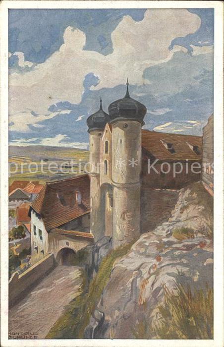 Parsberg Oberpfalz Schloss Parsberg Kat. Parsberg