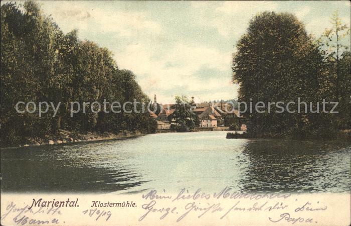 Mariental Helmstedt Klostermuehle Kat. Mariental
