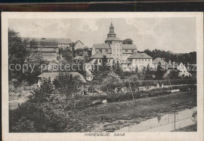 Hainewalde Schloss Kat. Hainewalde