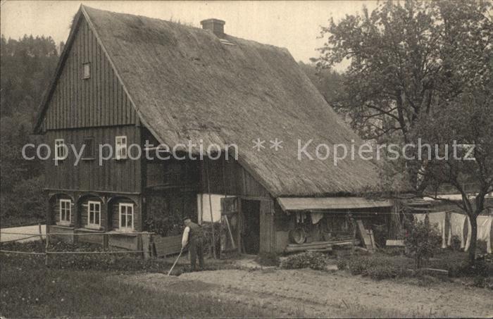 dp40082 Hainewalde Bauernhof Kat. Hainewalde