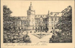 Regensburg Fuerstliches Thurn und Taxis Schloss / Regensburg /Regensburg LKR