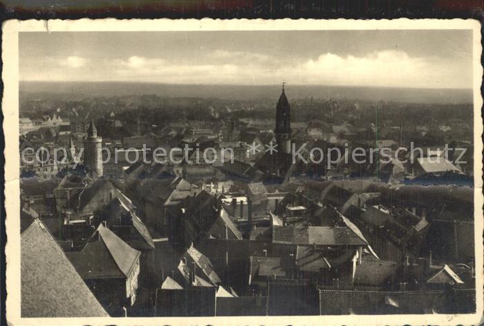Bautzen Blick von der Petrikirche Kat. Bautzen
