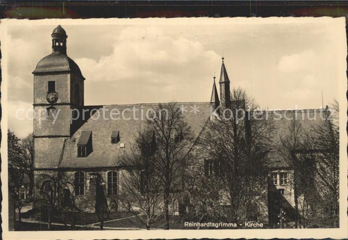 Reinhardtsgrimma Kirche Kat. Reinhardtsgrimma