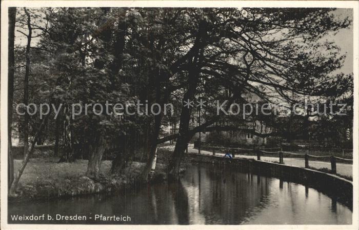 Weixdorf Pfarrteich Kat. Dresden