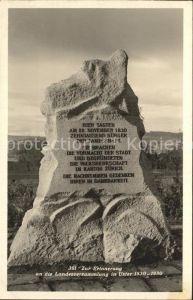 Uster ZH Denkmal Zur Erinnerung an die Landesversammlung 1830 Kat. Uster