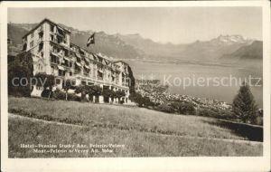 Mont Pelerin Hotel Pension Stucky Anc Genfersee Dents du Midi Alpenpanorama Kat. Mont Pelerin