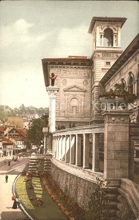 Lausanne VD Palais Rumine Kat. Lausanne