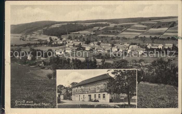 Lippersdorf-Erdmannsdorf Gasthaus zur Linde / Lippersdorf-Erdmannsdorf /Saale-Holzland-Kreis LKR