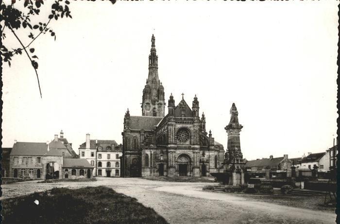 Sainte Anne d Auray Fontaine miraculeuse et la Basilique Kat. Sainte Anne d Auray