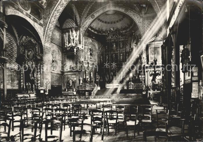 Saint Jean de Luz Eglise Interieur Kat. Saint Jean de Luz