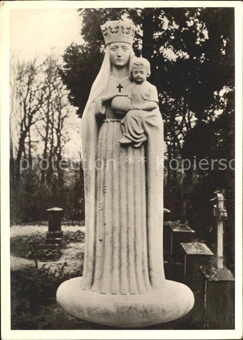 Heede Ems Madonna Statue Kat. Heede
