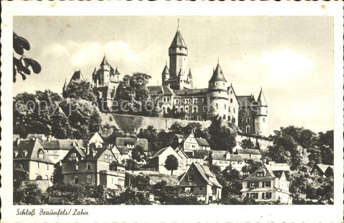 Braunfels Schloss Braunfels Kat. Braunfels 0