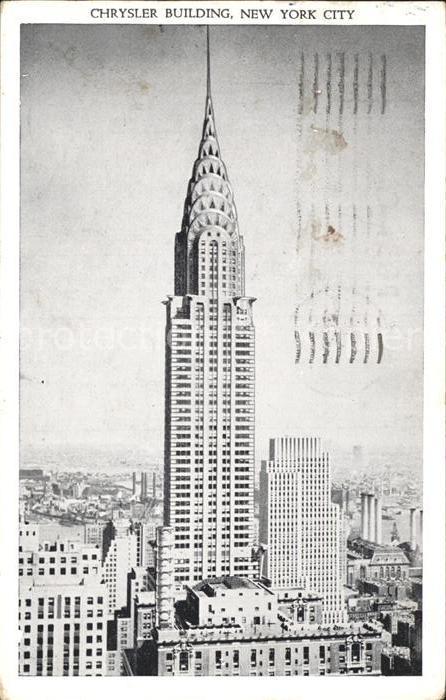 New York City The Chrysler Building  / New York /