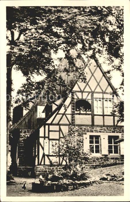 Neustadt Harz Ruine Hohnstein Gasthaus Kat. Neustadt Harz